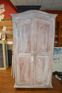 ARMOIRE WITH CHALK PAINT