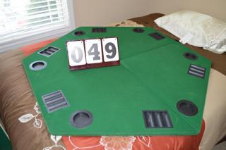 POKER TABLE TOP
