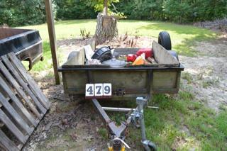 5FT X 8 FT TRAILER AND CONTENTS